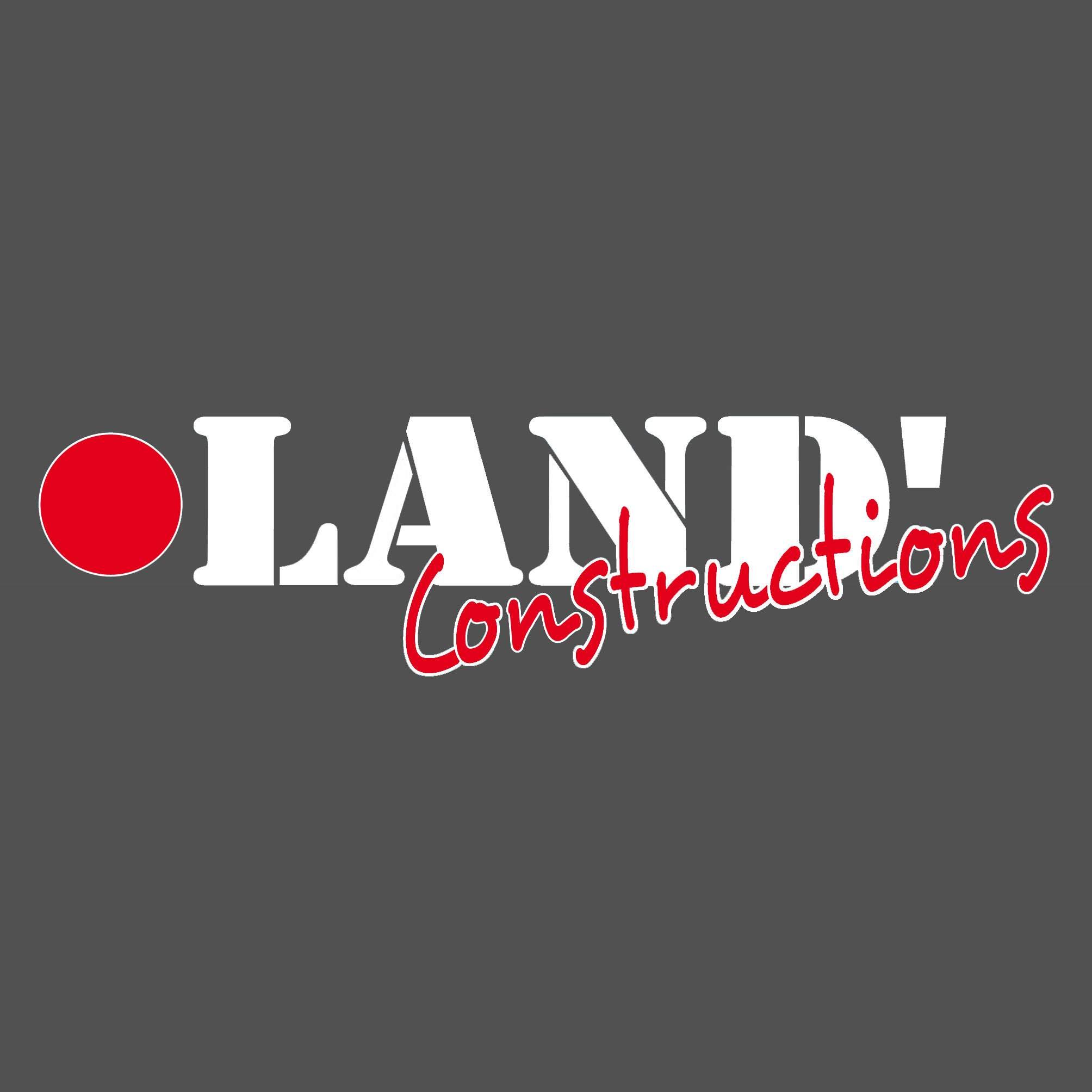 Logo LAND'CONSTRUCTIONS conception de plan de maison Landes 40