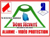 Logo Dôme Sécurité installation d'alarme Puy de Dôme 63