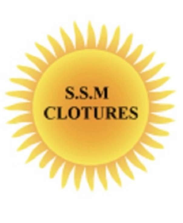 Logo S.S.M Clôtures installation de porte de garage Hérault 34