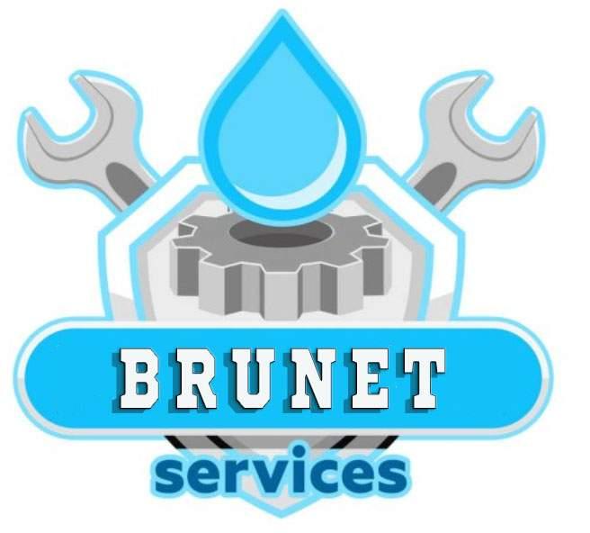 Logo Brunet services plomberie et installation sanitaire Paris 19ème 75019