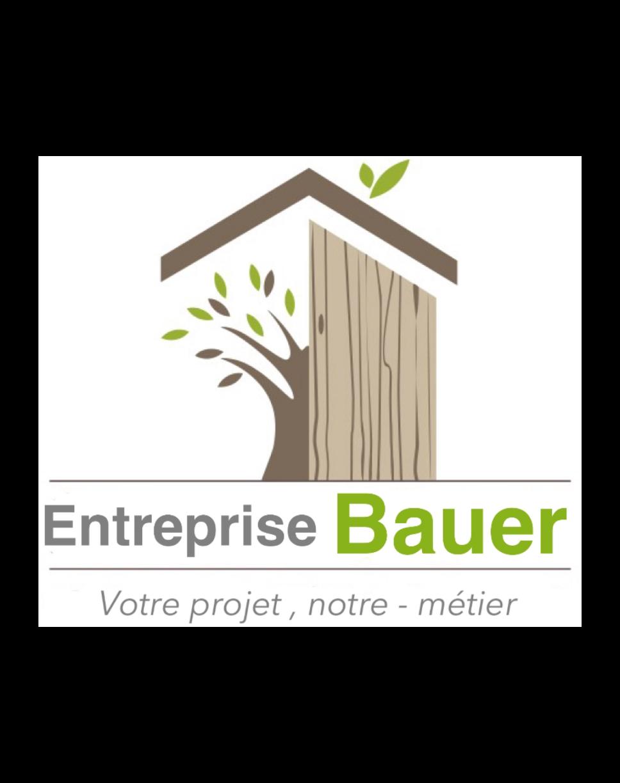 Logo Entreprise Bauer installation de porte de garage Seine-Saint-Denis 93