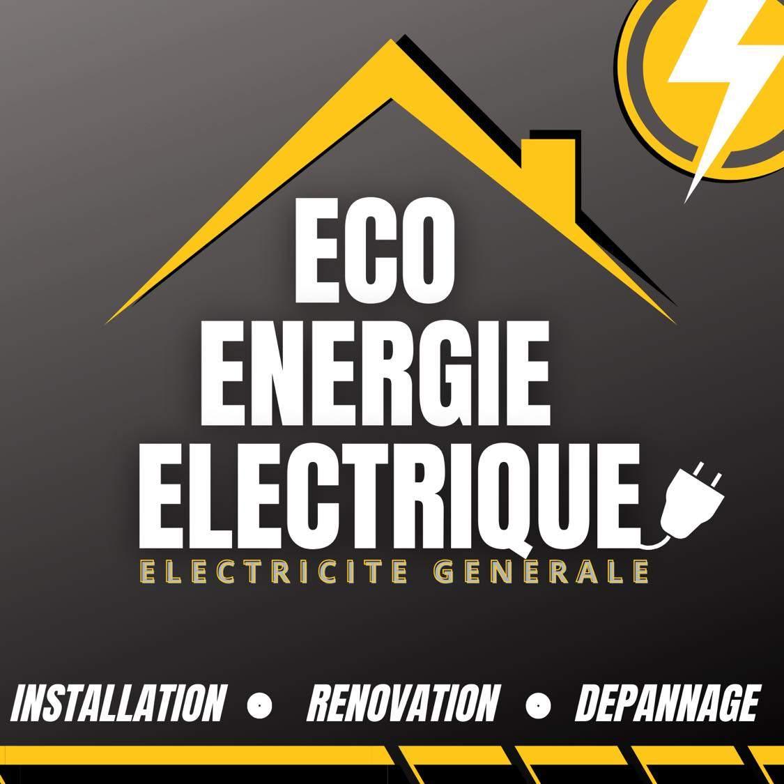 Logo ECO ENERGIE ELECTRIQUE installation de système de chauffage électrique Maine-et-Loire 49