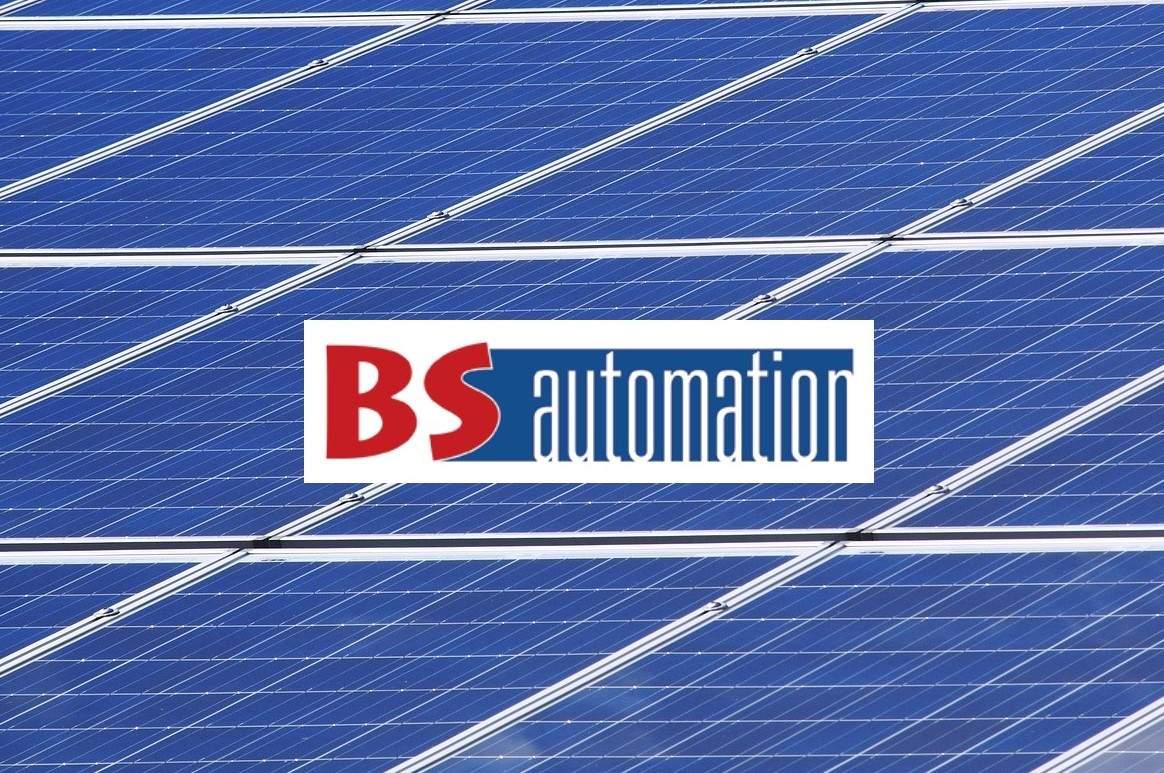 Logo BS AUTOMATION installation de panneaux photovoltaïques Loire 42
