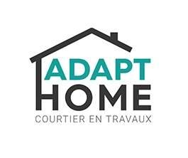 Logo ADAPT HOME installation de salle de bains Morbihan 56