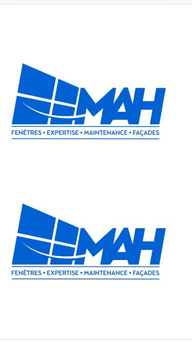 Logo MAH menuiserie Seine-Saint-Denis 93