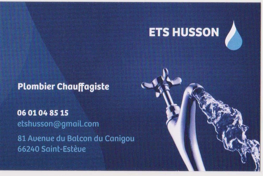 Logo ETS HUSSON installation et entretien de chaudière ST ESTEVES 66240