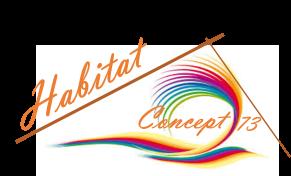 Logo Habitat Concept 73 installation de salle de bains Savoie 73