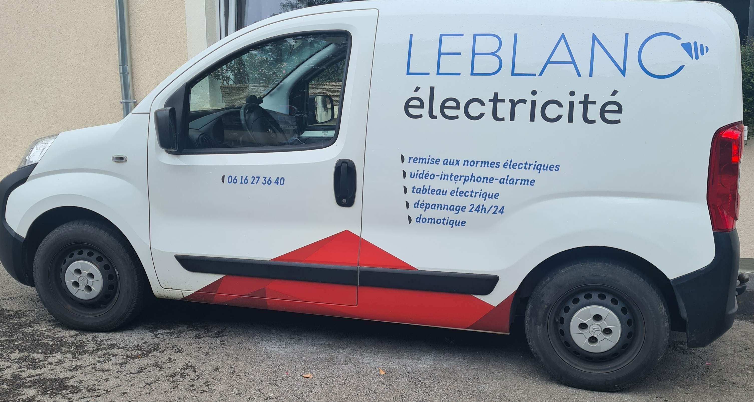 Logo Leblanc électricité électricité et installation électrique Moselle 57