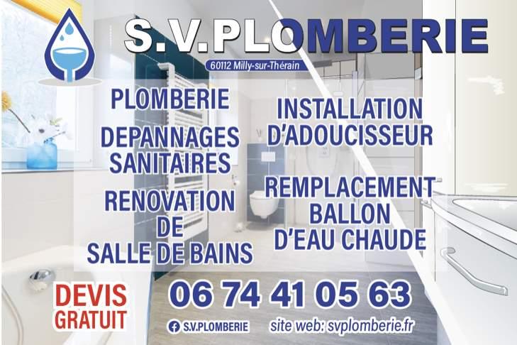 Logo EURL SIKSIK VINCENT PLOMBERIE installation de salle de bains Oise 60