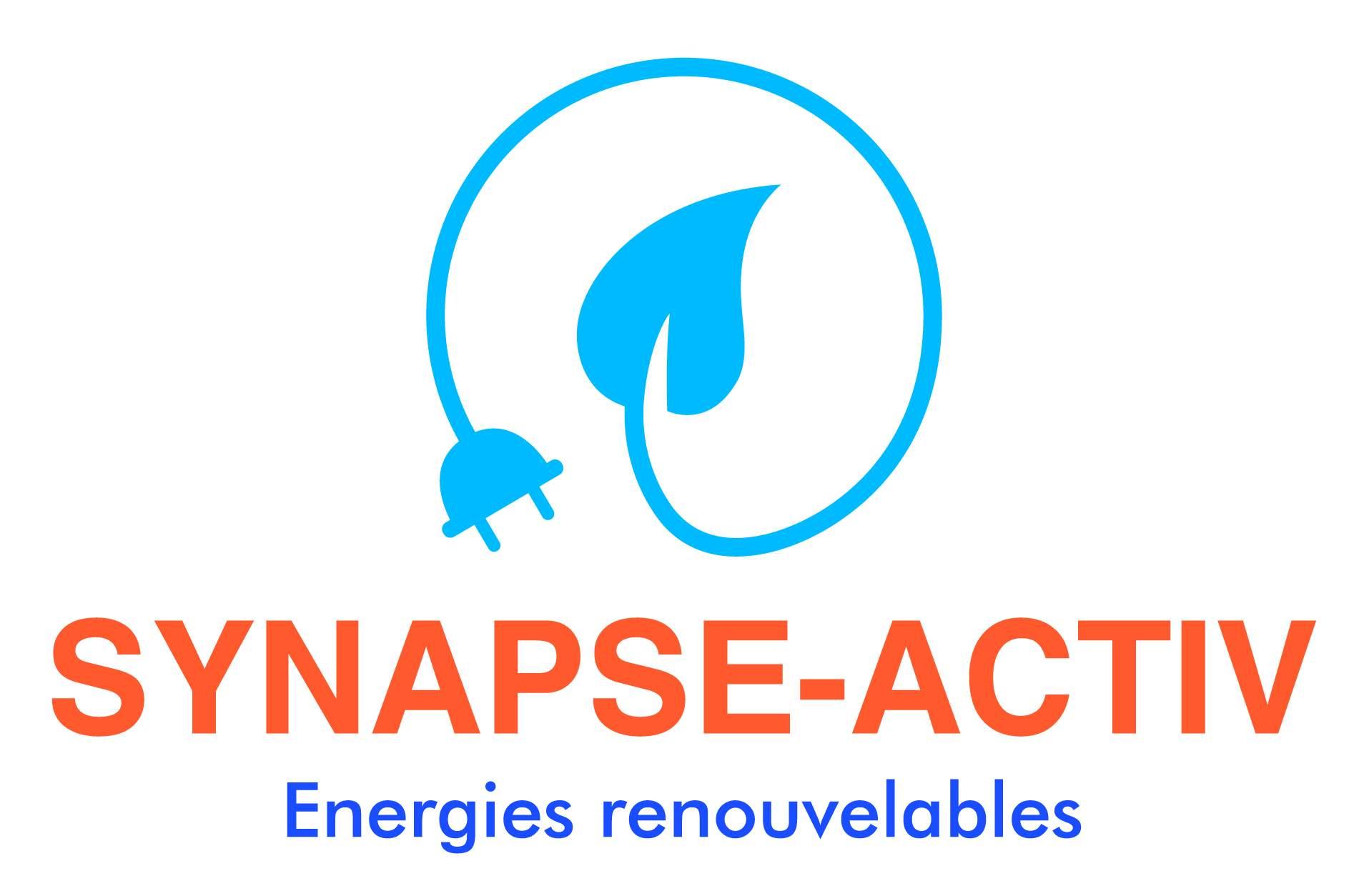 Logo Synapse Activ installation de pompe à chaleur Pyrénées Orientales 66