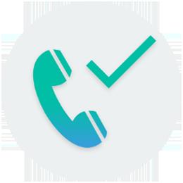 Un plafonneur vous confirme le RDV par téléphone
